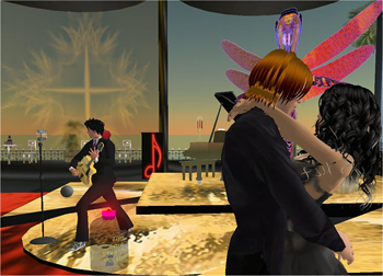 Didier Soyuz at the Sunset Club Secondlife