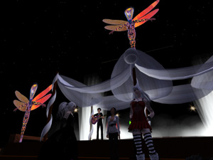 Didier Soyuz Performing Live at Asagao Treasures in Secondlife