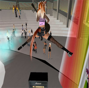 Salamander Maroon Leaps In Pontiac Secondlife