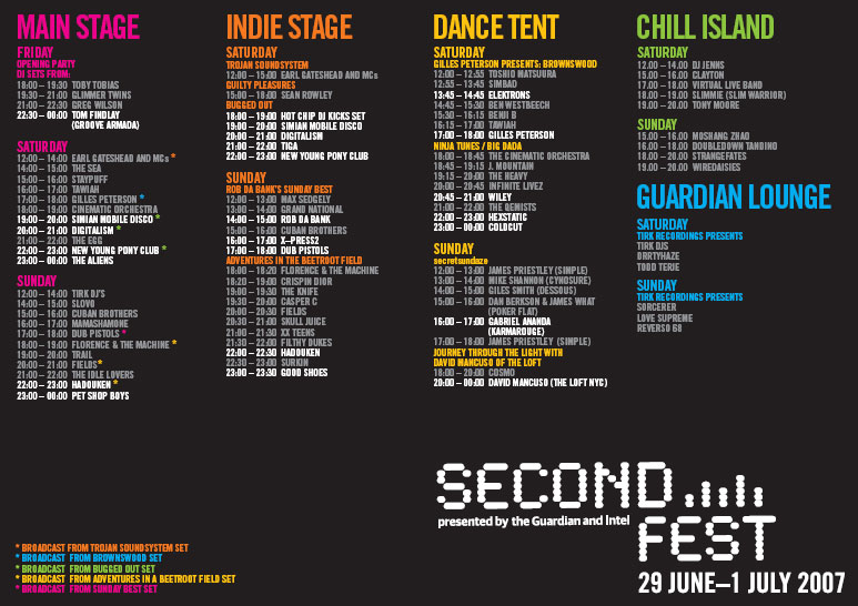 secondfest